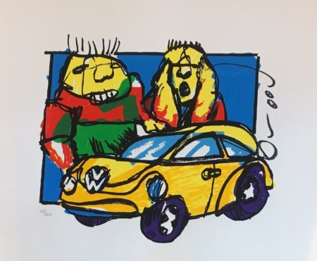 vw beetle zeefdruk herman brood