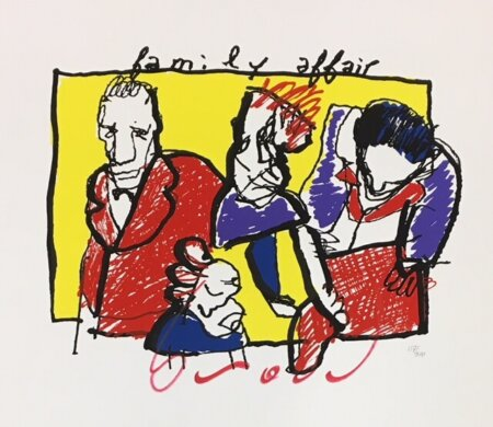 falmily affair zeefdruk herman brood