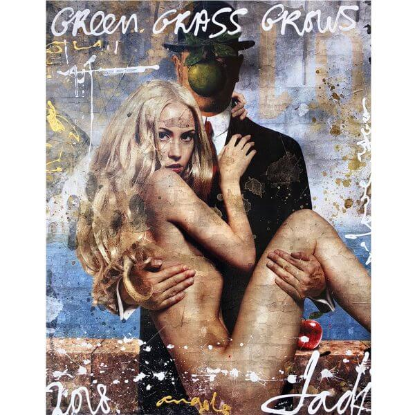 Kunstwerk Jack Liemburg Green Grass Grows
