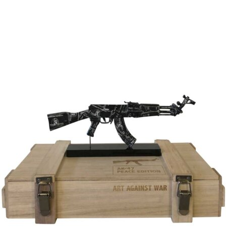 AK 47 Black Amex - Art Against War