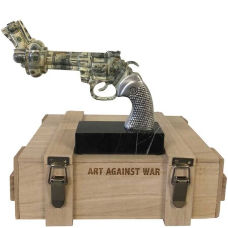 Revolver Dollars - Art Against War