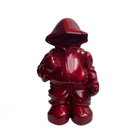 Anonymous A - Red (Metallic)